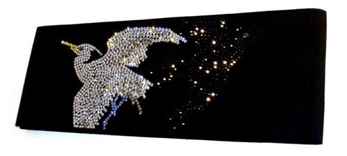月影屋烏鷺の半巾帯