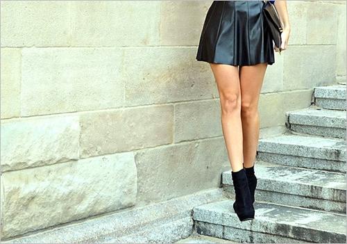 ミニスカート画像