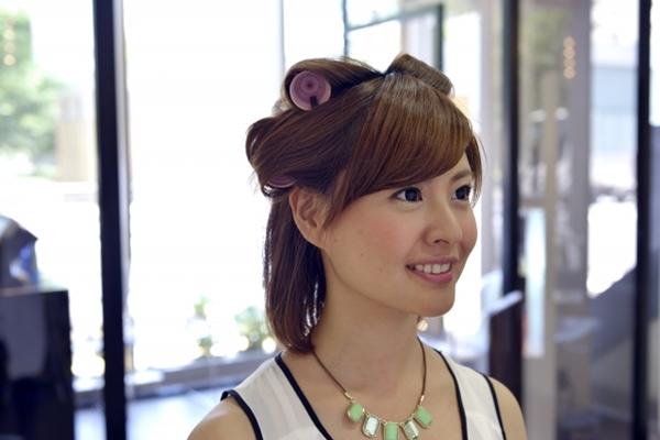 七五三ママスーツに似合う髪型